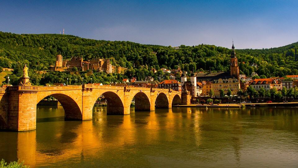 The city of Heidelberg