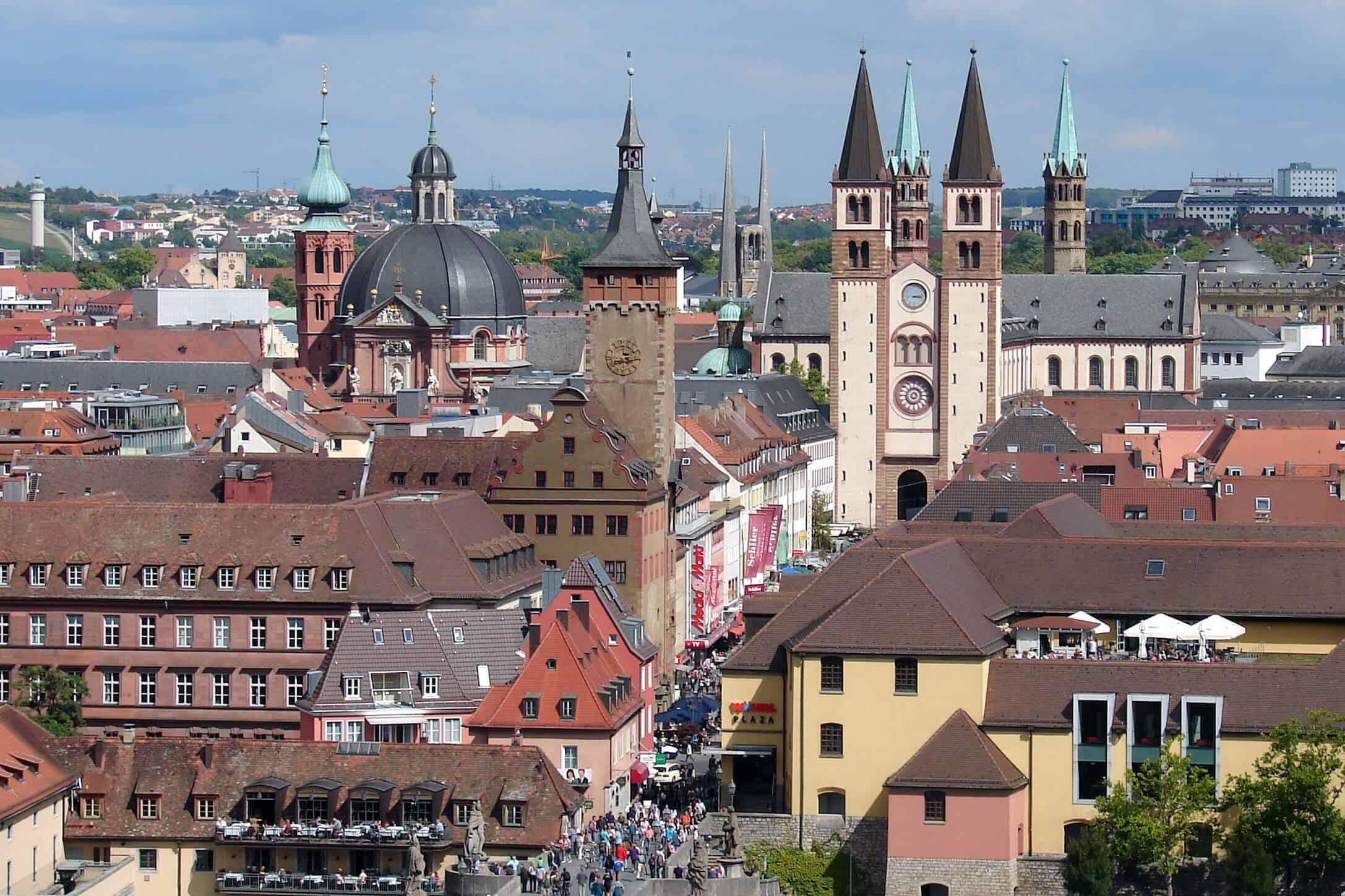 Wurtzburg town centre