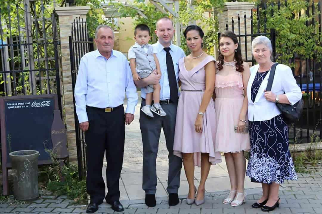 Florin with his family
