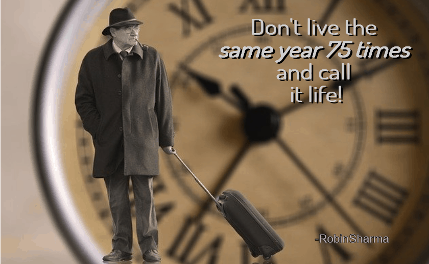 Travel quote about time